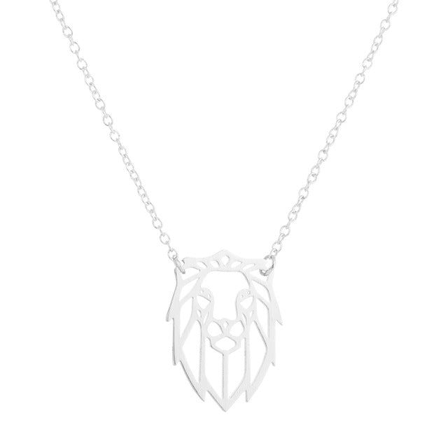 Elegant Lion Necklace - lionecher