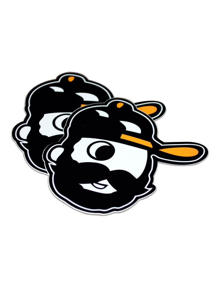Bearded Boh Sticker