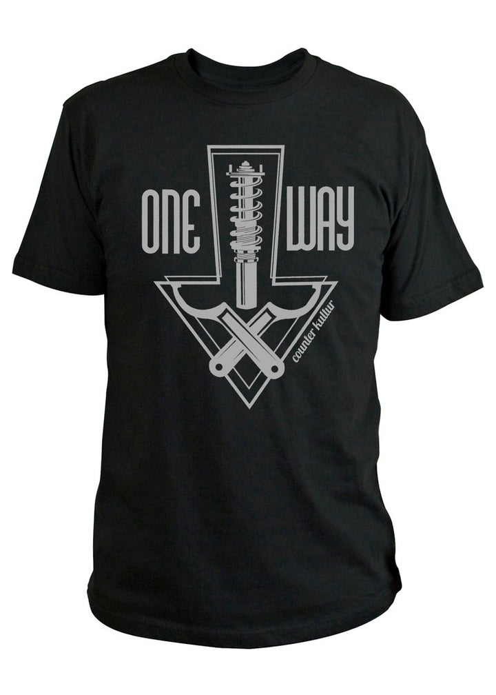 One Way Static Black Shirt