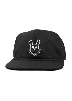 Vintage OG Rabbit Hat - Black Wool