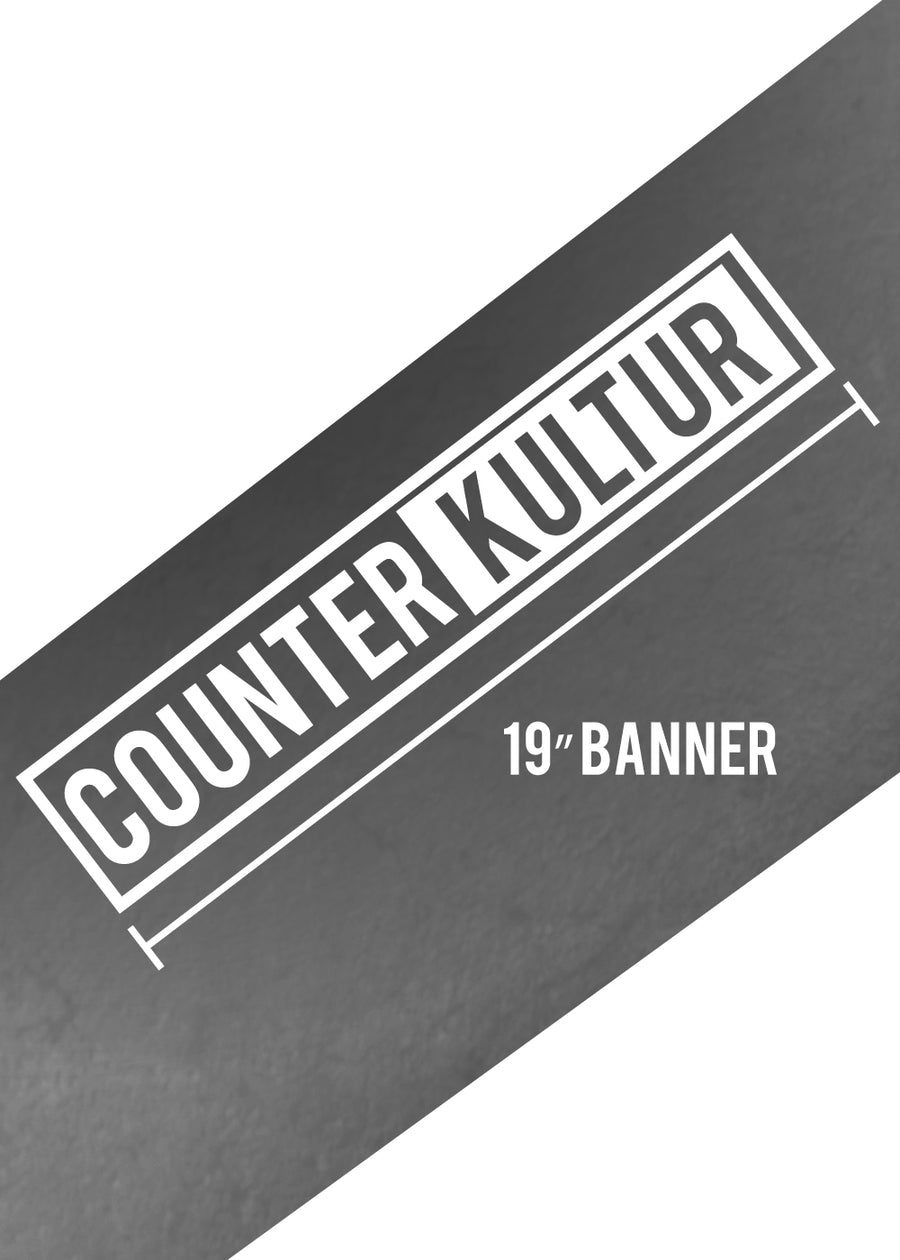 "19"" Counter Kultur Box Decal"