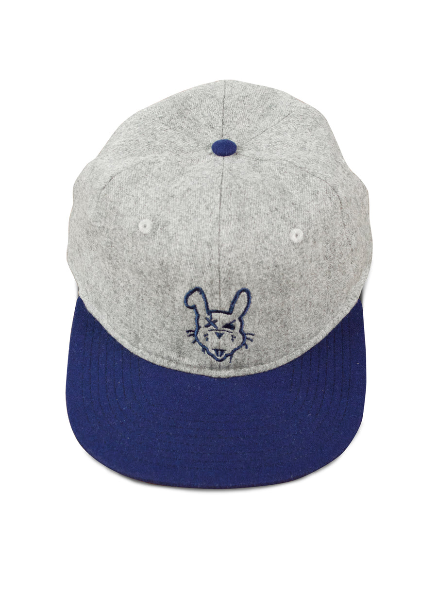 Vintage OG Rabbit Hat - Grey Wool