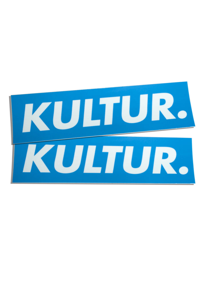 Kultur Box Sticker