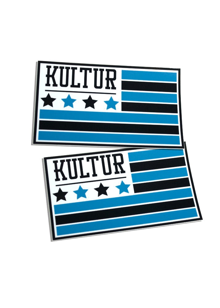 Kultur Flag Sticker