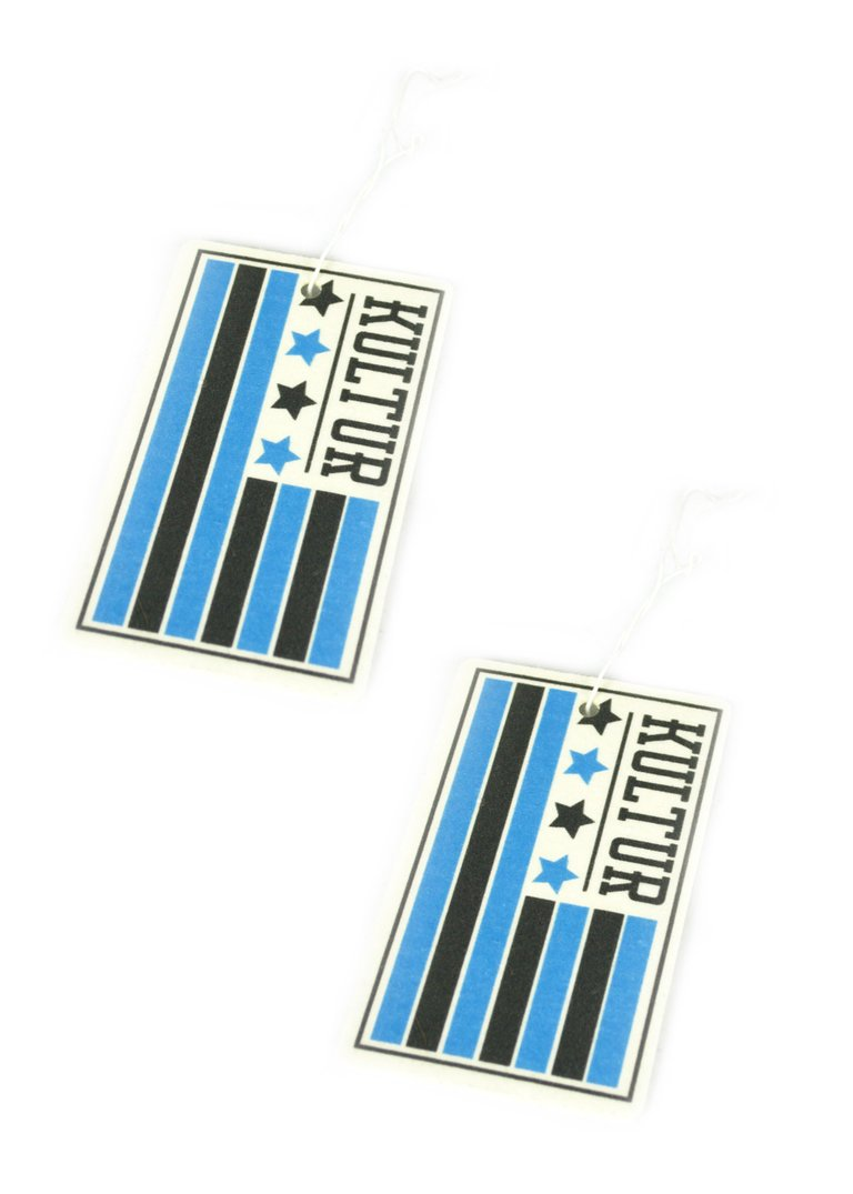 Kultur Flag Air Freshener - 2 Pack