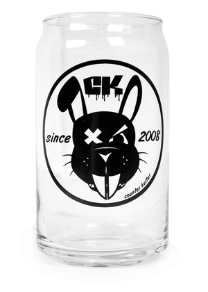 OG Rabbit Can Pint Glass