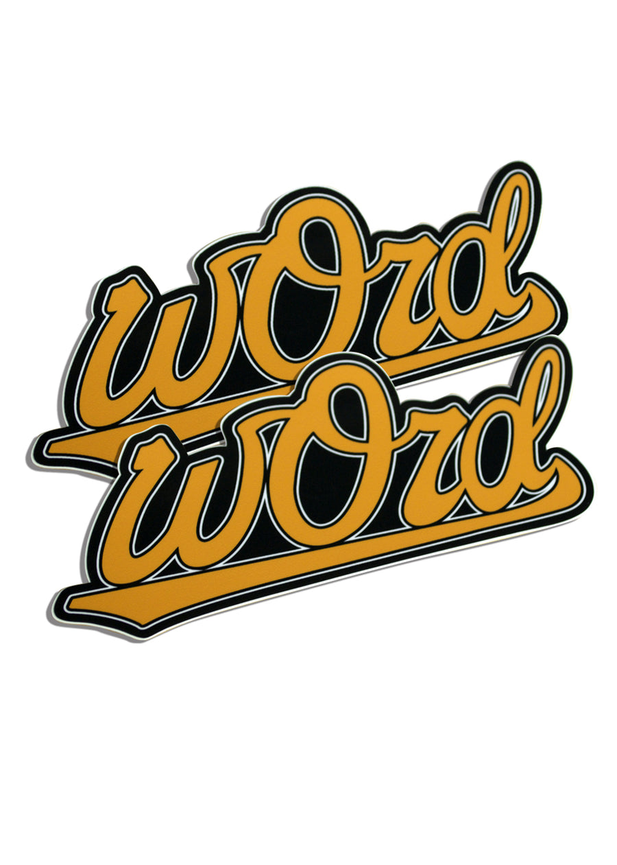 O Word Sticker