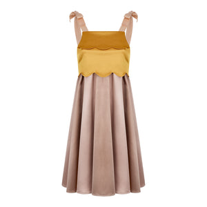 BE OBSESSED DRESS NUDE