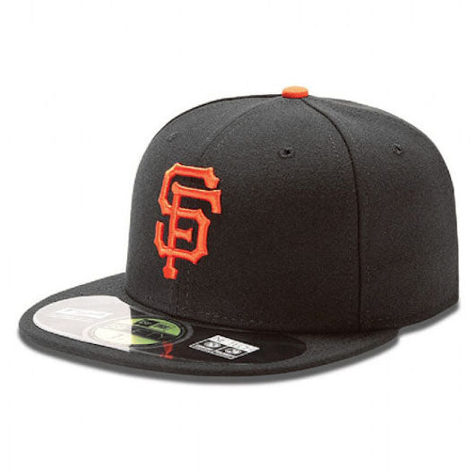 New Era AC San Francisco Black Fitted Angle