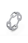 Statement Collective Chain Link Ring