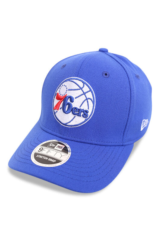 New Era 950 SS Philadelphia 76ers Replen OTC Angle