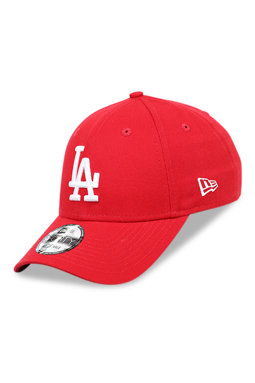 New Era 940 CS Dodgers Replen Scarlet White Angle