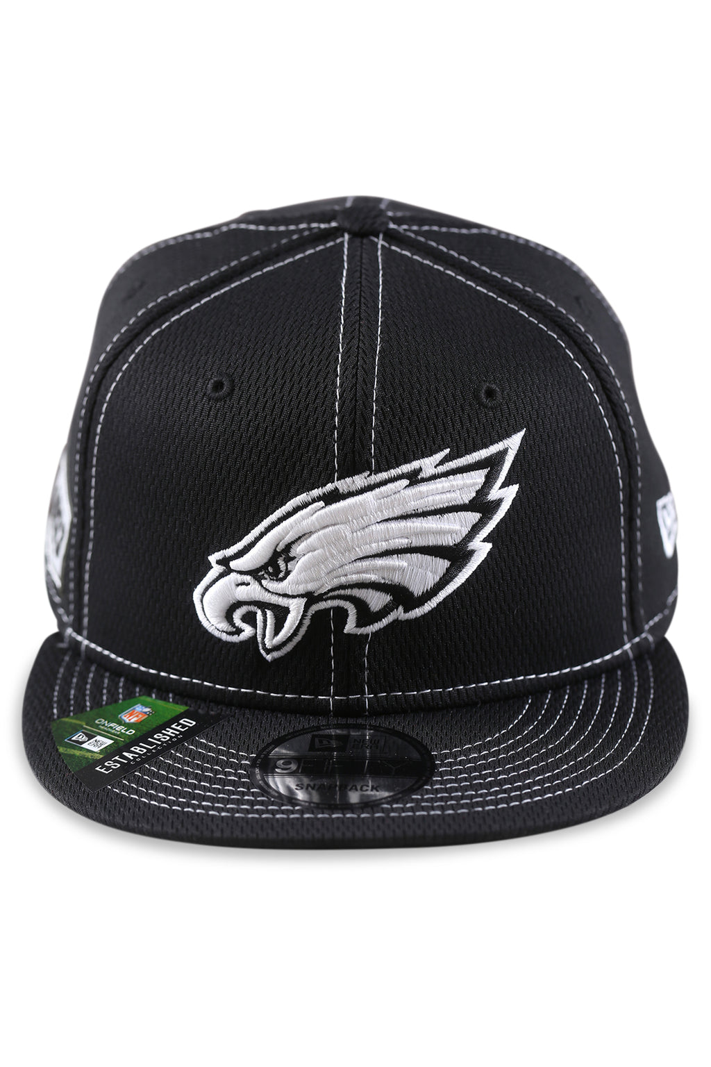 New Era 950 Philadelphia Eagles NFL Sideline Black Snapback