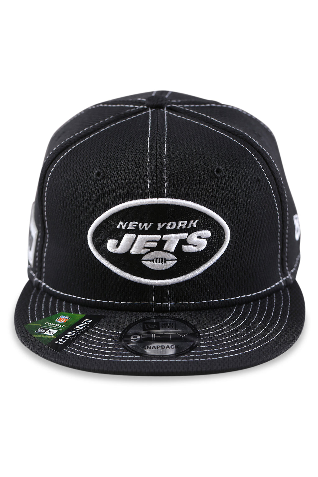 New Era 950 NY Jets NFL Sideline Black Snapback