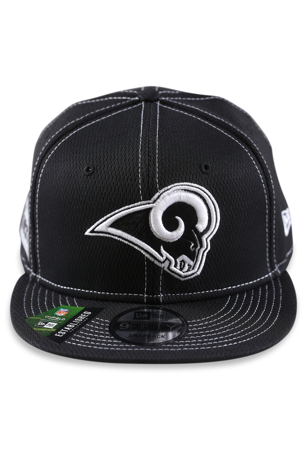 New Era 950 LA Rams NFL Sideline Black Snapback
