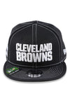 New Era 950 Cleveland Browns NFL Sideline Black Snapback
