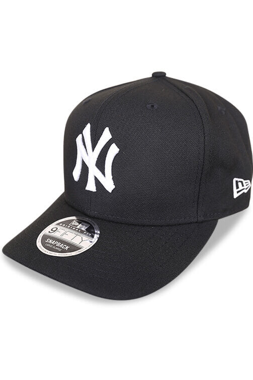 New Era 950 NY Retro Pack Black Snapback Angle