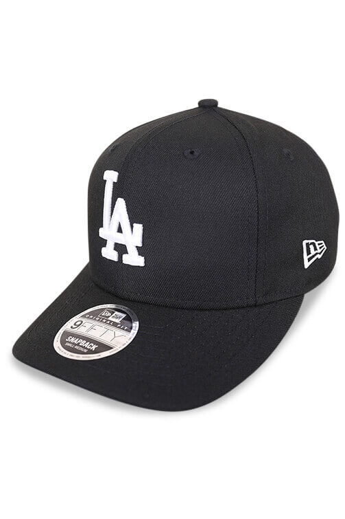 New Era 950 LA Retro Pack Black Snapback Angle