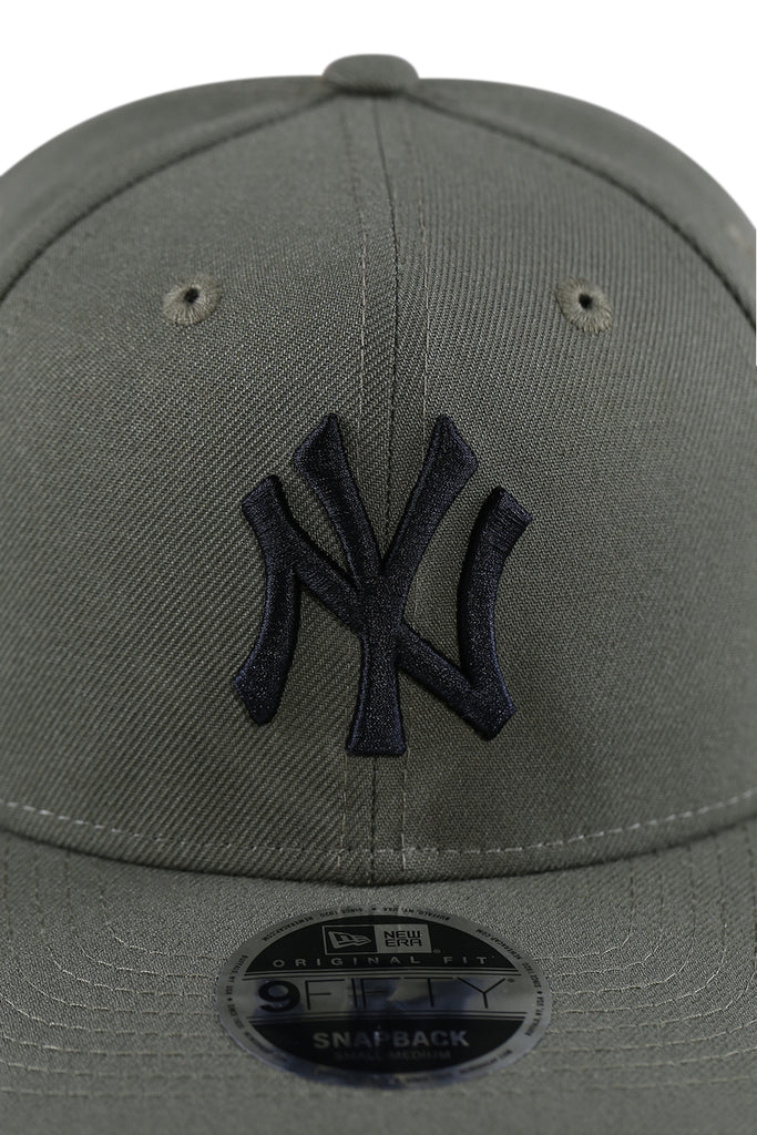 New Era 950 PC NY Olive Pod Snapback Detail 1