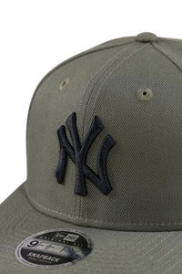 New Era 950 PC NY Olive Pod Snapback Detail 2
