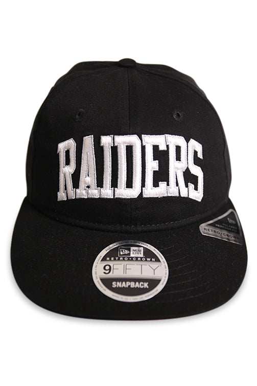 New Era 950 RC Raiders Arch Story Pack Black Snapback Front