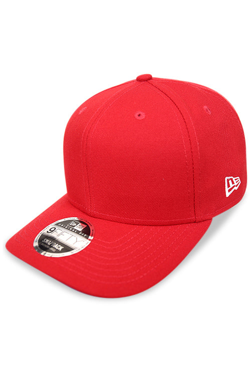 New Era 950 Pre Curved Core Scarlet Snapback Angle