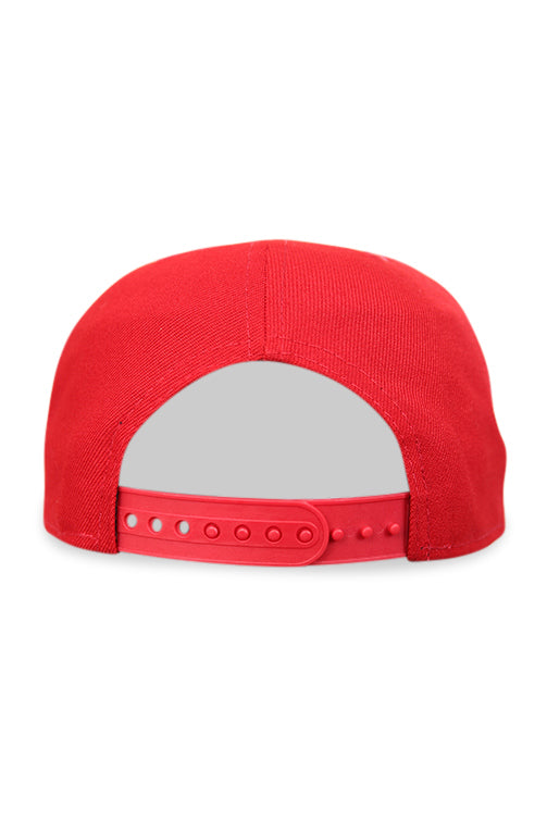 New Era 950 Pre Curved Core Scarlet Snapback Back