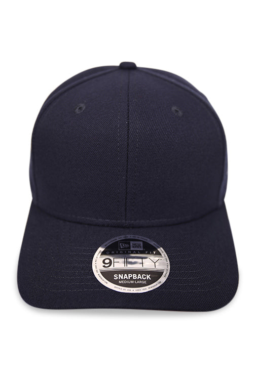 New Era 950 Pre Curved Core Navy Snapback Front