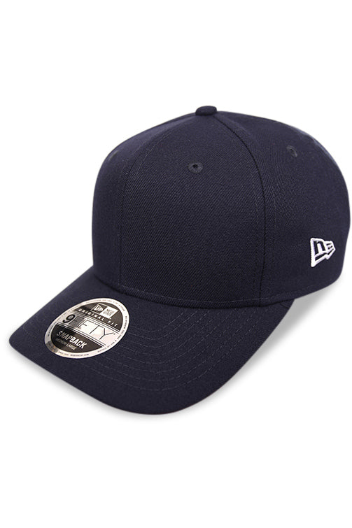 New Era 950 Pre Curved Core Navy Snapback Angle