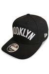 New Era 950 PC Nets Jersey Black Snapback Angle