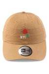 New Era Casual Classic NYC Rose Wheat Strapback Front