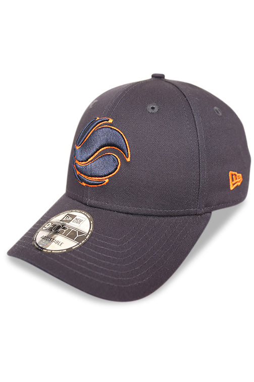 New Era 940 Australian Basketball Navy/Orange Strapback Angle