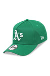 New Era 940 A Frame Athletics OTC Kelly Green Snapback Angle