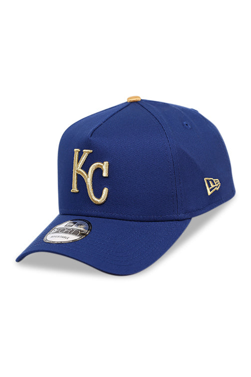 New Era 940 A Frame KC Royals Royal/Gold Snapback