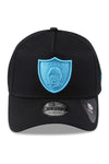 New Era 940 A Frame Raiders Black/Blue Neon Snapback