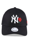 New Era Womens 940 NY Black/Rose Strapback