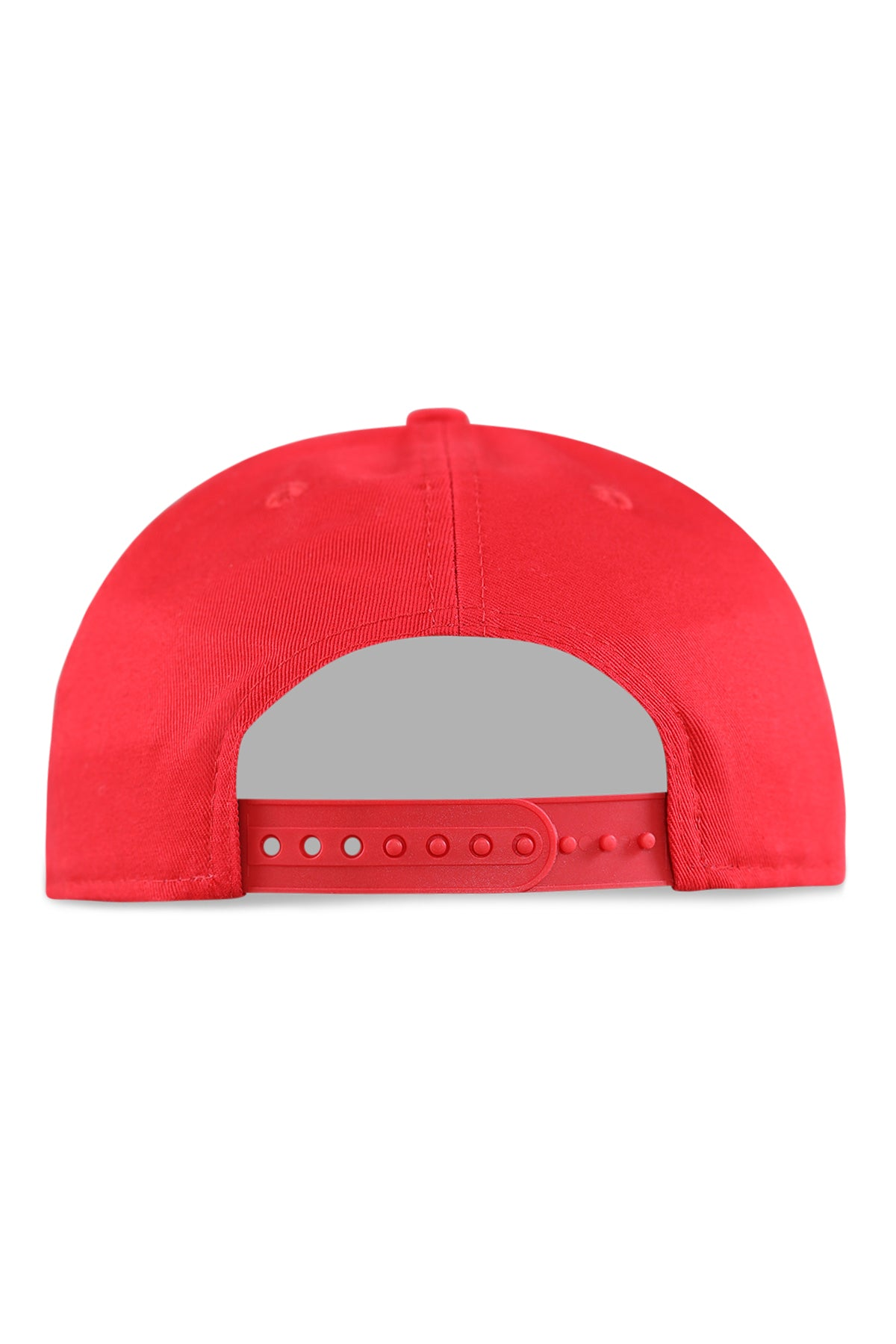 New Era Bulls Golfer Script FD Red/Grey Snapback Back