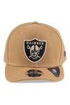 New Era 950 Raiders Wheat Redux Black Snapback