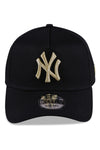 New Era 940 A Frame NY Black & Gold Snapback