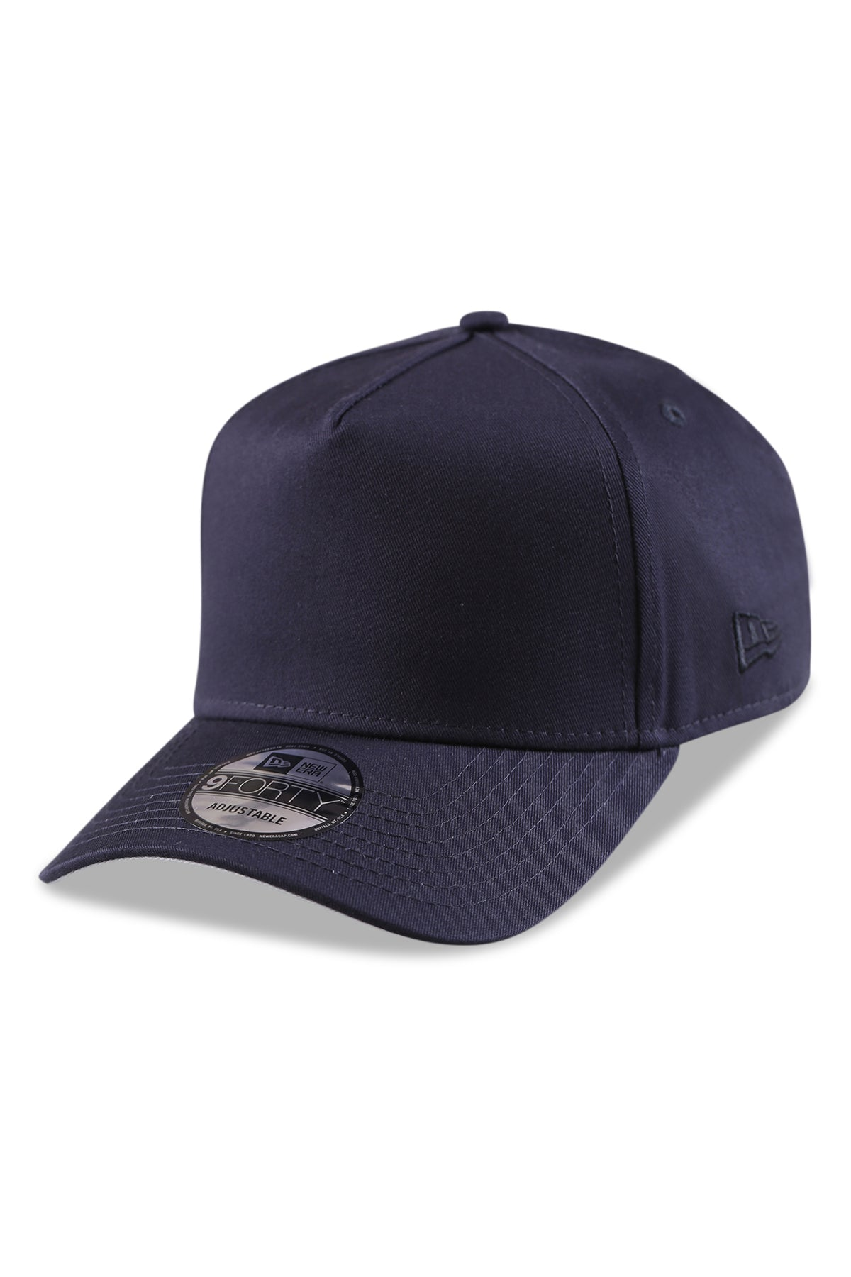 New Era 940 A Frame Navy/Grey Snapback Angle