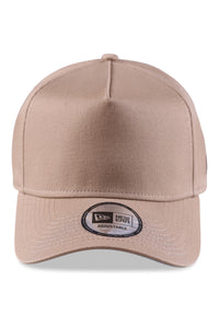 New Era 940 A Frame British Khaki/Grey Snapback Front