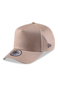 New Era 940 A Frame British Khaki/Grey Snapback Angle