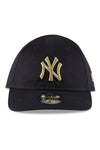 New Era My 1st 940 NY Black/Gold Strapback Front