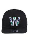New Era 950 NZ Warriors NRL21 Black Snapback Front