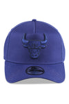 New Era 940 A Frame Bulls Dry Navy Dark Blue Snapback