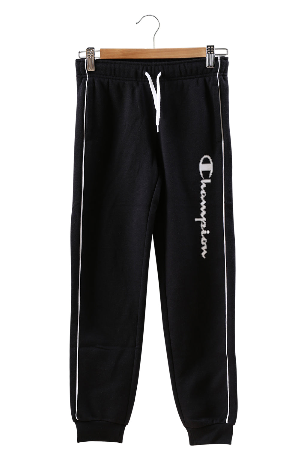 Champion EU Boys Script Pant Black/White