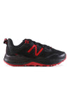 New Balance Youth Nitrel W Wide Width Black/Red Side
