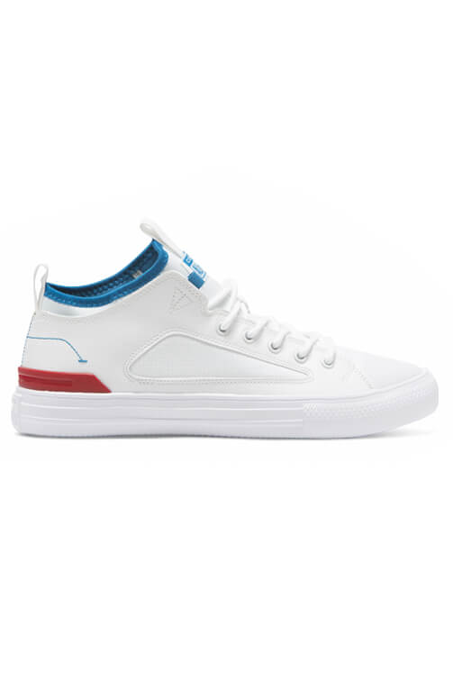 Converse CT Ultra Low White/Enamel Red Side