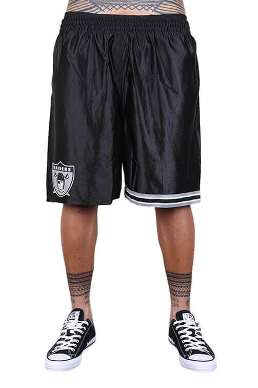 M&N Raiders Dazzle Shorts Black Front
