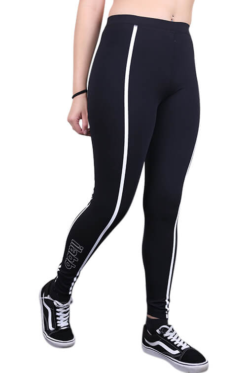 Ilabb Womens Everest Leggings Black Front